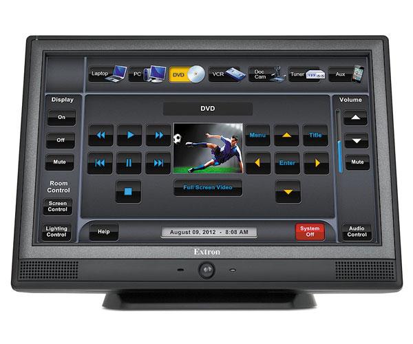 EXTRON  Extron TLP 1000TV - Ecran Tactile 10`` pour table - Noir