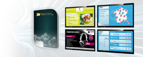 Cube Digital Media - Neoscreen Version 5.0 - Solution logicielle d´affichage dynamique