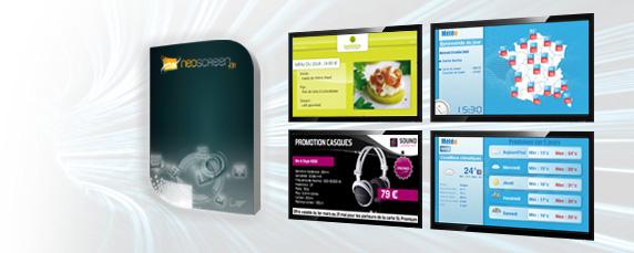 IAGONA (ex. Cube Digital Media) Iagona (ex. Cube Digital Media) - Neoscreen Version 5.0 - Solution logicielle d´affichage dynamique