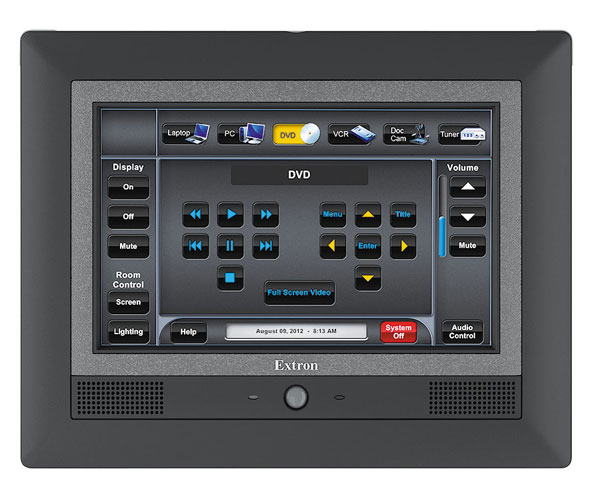 Extron EXTRON - TLP 710MV Ecran Tactile 7`` Noir