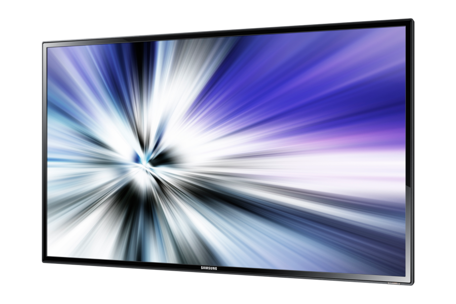 Samsung - 40´´ LED, 16:9, 1080p (FullHD) - HDMI, DVI, VGA, DisplayPort, USB - 450cd/m² - HP 2x10W