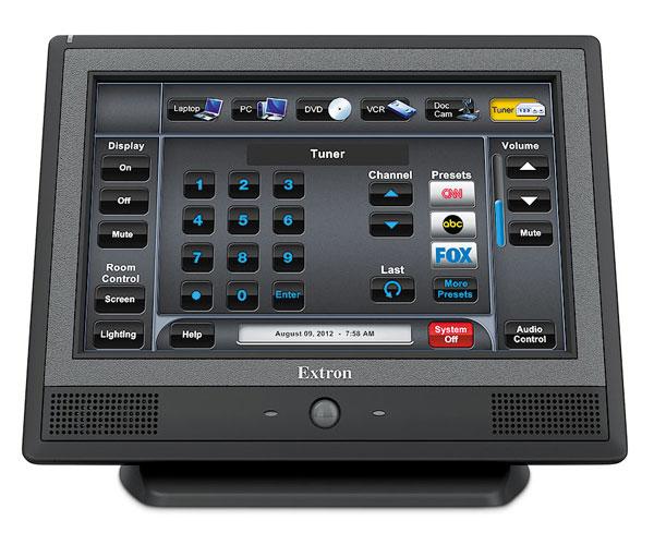 EXTRON  Extron TLP 710TV - Ecran Tactile 7´´ pour Table