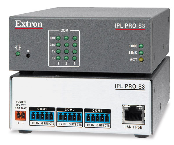 IPL Pro S3 - Processeur de contrôle IP Link Pro - 3 ports série