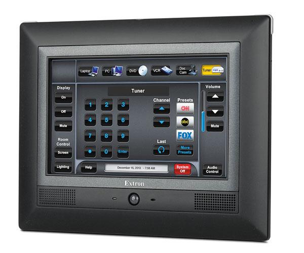 ** Remplacé par 60-1563-02 ** TLP Pro 720M - Écran tactile TouchLink Pro mural 7`` - NOIR