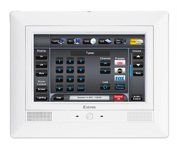 EXTRON  Extron TLP Pro 720M -  Écran Tactile Mural 7´´ - Blanc