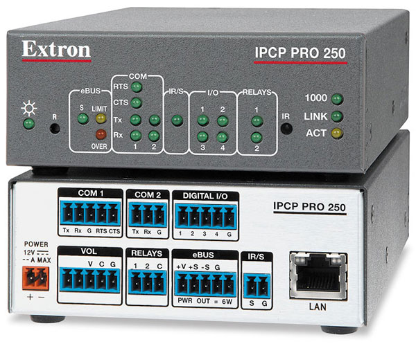 IPCP Pro 250 - Processeur de contrôle IP Link Pro - Avec Link License
