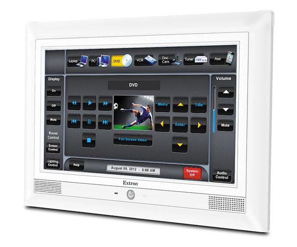 Extron EXTRON - TLP 1000MV - Ecran Tactile Mural 10`` Blanc