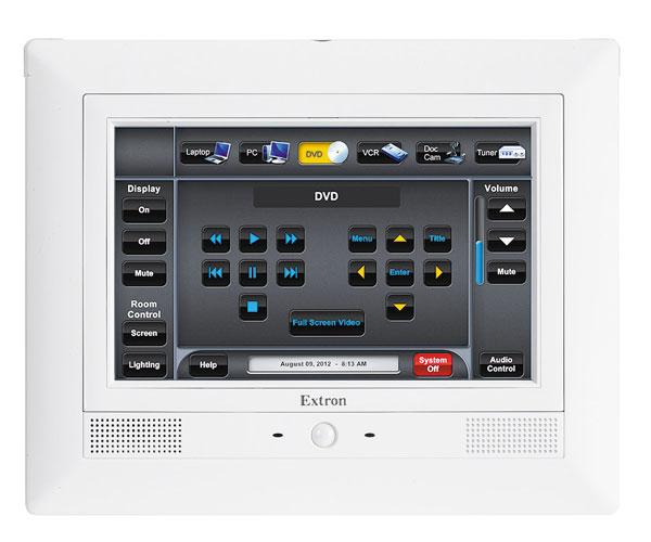 **RETIRE** TLP 710MV - Écran tactile TouchLink 7`` mural - BLANC