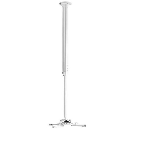 CHIEF Kit de fixation plafond pour vidéoprojecteur réglable de 80 à 135cm, blanc