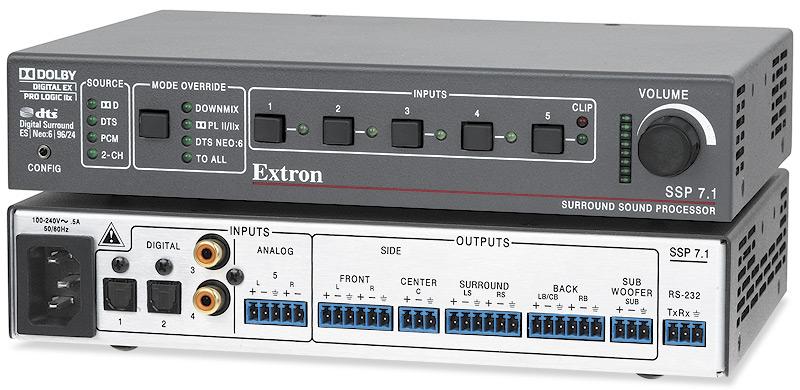 EXTRON  Extron SSP 7.1 - Processeur de son surround