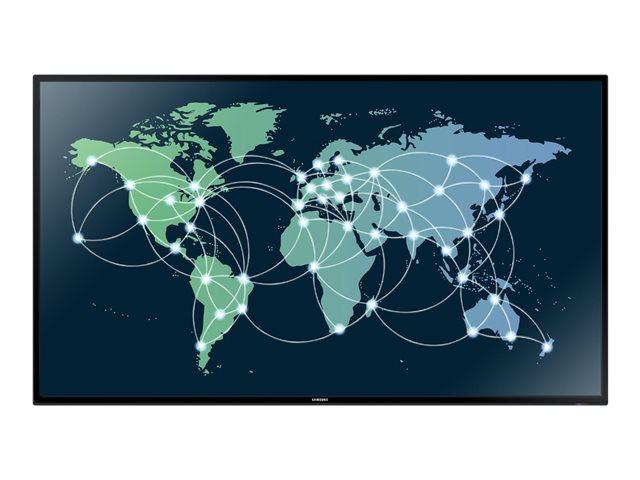Samsung Moniteur LED 65`` - 400 cd/m² - 1080p (Full HD) 1920 x 1080 - 16h/7j - HP 2x10W - VESA 400x400 - 27.4 kg