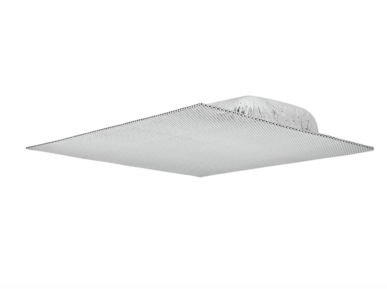 FF 220T - Enceintes large bande Flat Field, boîtier discret, transfo 70/100 V - Plafond - boîtier 600 x 600 mm, Xfmr, par paire