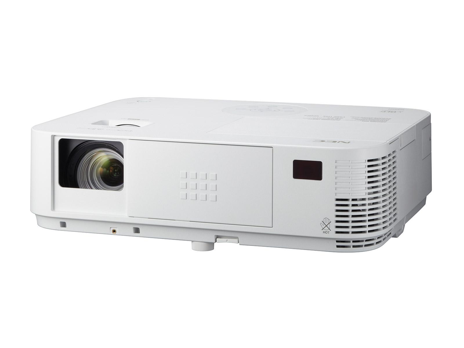NEC - Projecteur DLP - 3D - 4000 ANSI Lumens - Full HD (1920x1080) - 16:9 - HD 1080p LAN - 10000:1 - 3.7 kg