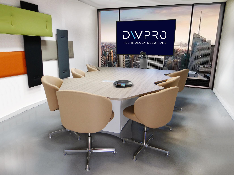 DWPRO Elato - Table de réunion et de visioconférence 7 personnes
