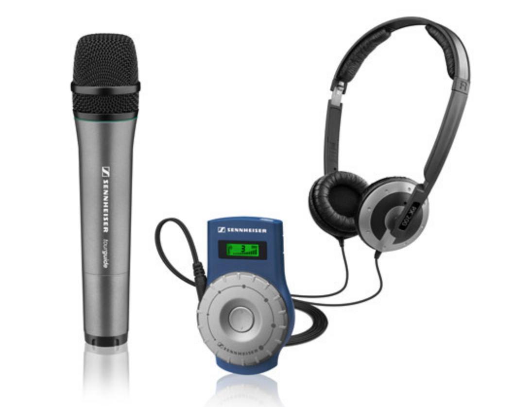 SENNHEISER Sennheiser TourGuide 2020-D - Système de guidage audio
