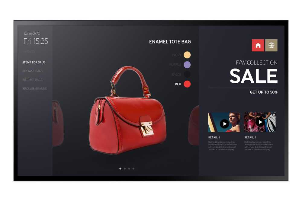 SAMSUNG Samsung PM55F-BC - Ecran d´Affichage Tactile 55´´