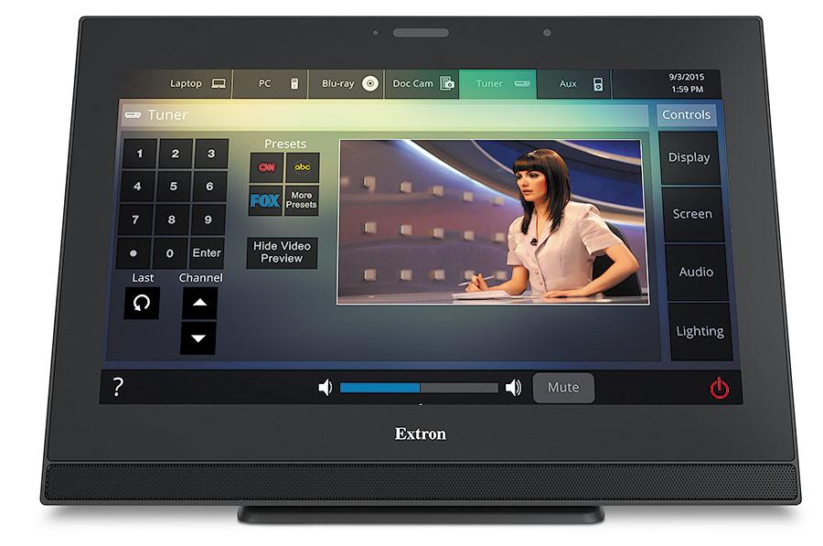 TLP Pro 1720TG - Écran tactile TouchLink Pro 17`` - Noir - Sur table et VESA