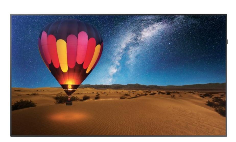 Moniteur LED 98`` - 500 cd/m² - UHD 4K 3840x2160 - 24h/7j - HP 2x10W - VESA 900x600 - 80 kg
