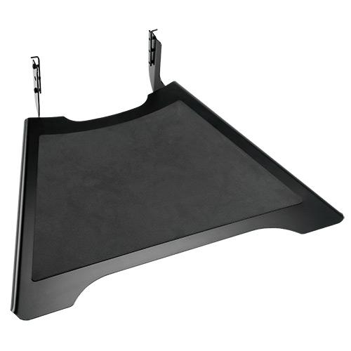 Tablette pour chariots LPAU FUSION, capacité 11.3Kg - noir
