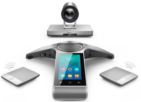YEALINK - VC800 CODEC DE VISIOCONFÉRENCE AVEC PHONE - CAMERA 12X
