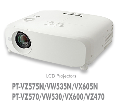 PANASONIC PANASONIC PT-VZ470 - Projecteur LCD, 4 400 Lumens, WUXGA - 1,920 x 1,200 pixels