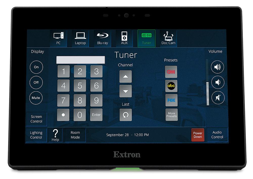 TLP Pro 725T - Écran tactile TouchLink Pro 7`` à poser sur table - Noir