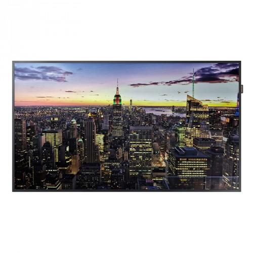 Moniteur LED 65`` - 500 cd/m² - UHD 4K 3840x2160 - 24h/7j - HP 2x10W - VESA 400x400 - 22.8 kg - Player MagicInfo S5 Quad Core intégré