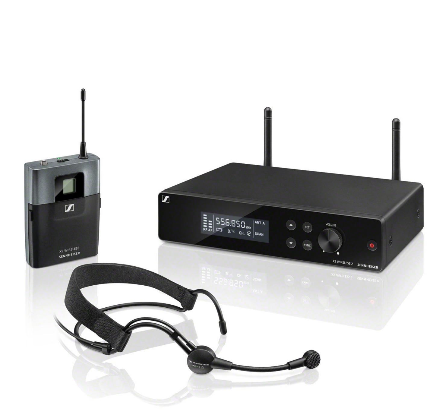 XSW 2-835-A - Ensemble vocal : 1x EM XSW 2, SKM 835 XSW (dynamique, cardio), NT 12-5 CW, MZQ 1, GA 1 XSW 2, (548 - 572 MHz)