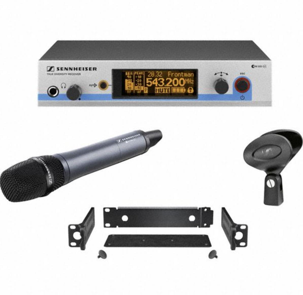 ew 572 G3 A-X - Ensemble de poche: EM 500, SK 500, CI 1 et GA 3, 516-558 MHz