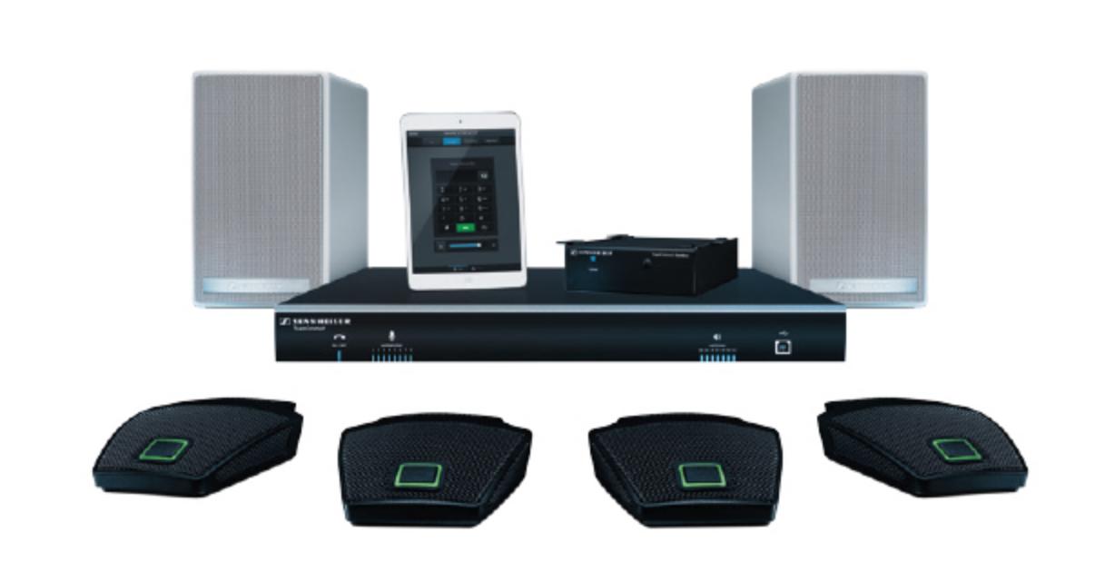 TeamConnect BNDL L FLEX - Ensemble : 1 SL CUCB1 EU, 2 SL 52 AW, 2 SL MIC HUB 1, 8 MEB 114-S TC, 1 MAS 2 TC, câble système inclus