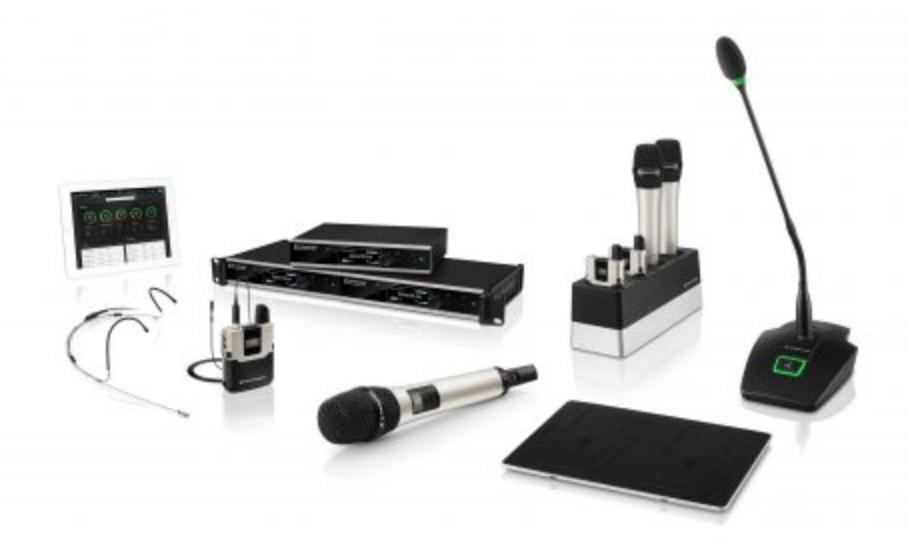 SL RACK RECEIVER DW-3-EU - Récepteur fixe pour montage en rack, bloc d´alim, numérique, 1,9 GHz