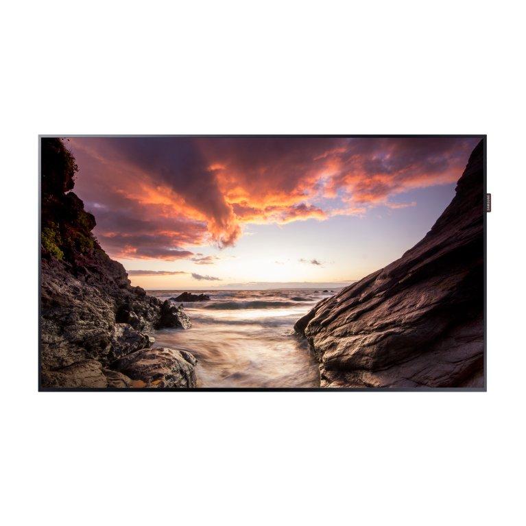 Moniteur LED 43´´ - 500 cd/m² - 1080p (Full HD) - 24h/7j - HP 2x10W - VESA 200x200 - 9.5 kg - Player MagicInfo S4 Quad Core intégré