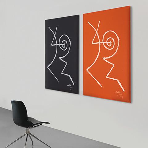 CAIMI CAIMI - Gamme de panneaux acoustiques Snowsound Art