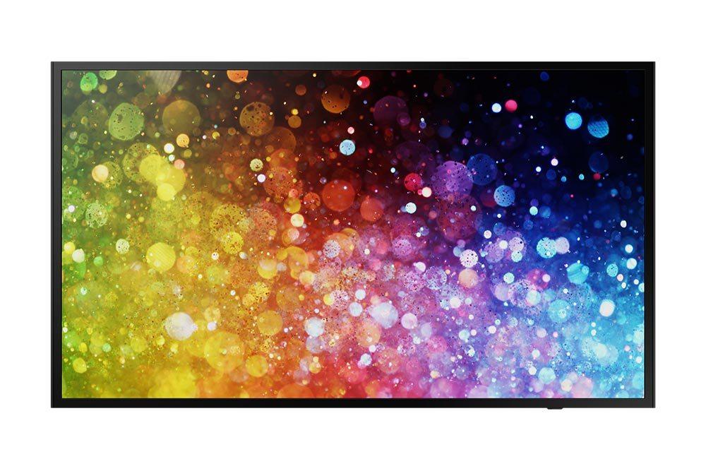 Moniteur LED 43´´ - 300 cd/m² - 1080p (Full HD) 1920 x 1080 - 16h/7j - HP 2x10W - VESA 200x200 - 7.8 kg