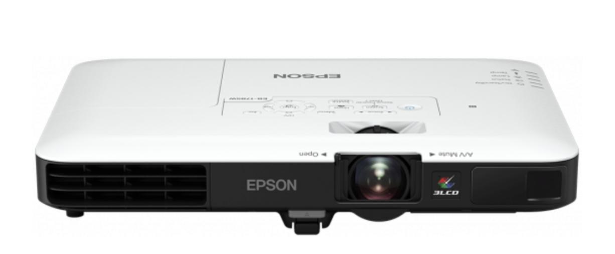 3LCD - 3200 ANSI Lumens - WXGA (1280x800) - 16:10 - HD - 10000:1 - 802.11b/g/n ss fil / NFC / Miracast - ultra-mobile 1.8 kg