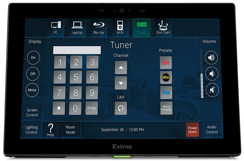 TLP Pro 1025T - Écran tactile TouchLink Pro 10`` à poser sur table - NOIR