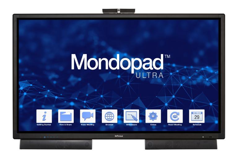 INFOCUS InFocus MONDOPAD Ultra - Ecran tactile de visiocollaboration 85´´ 4k UHD