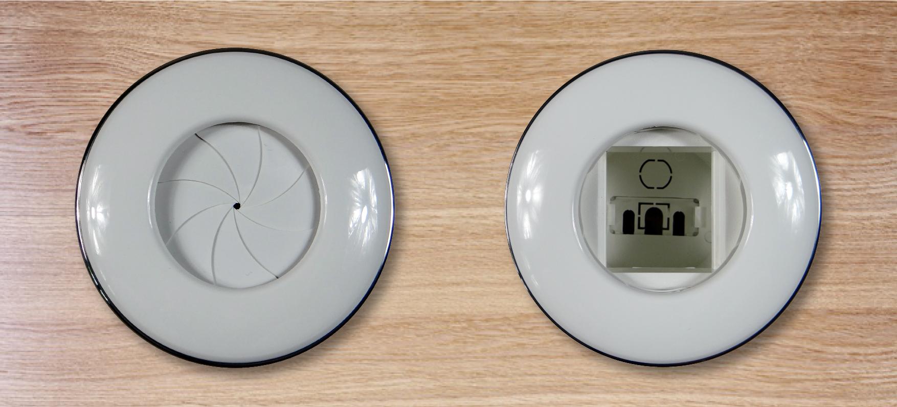 DIGITEL Digitel Iris - Boitier de connexion Passe Câble - Blanc