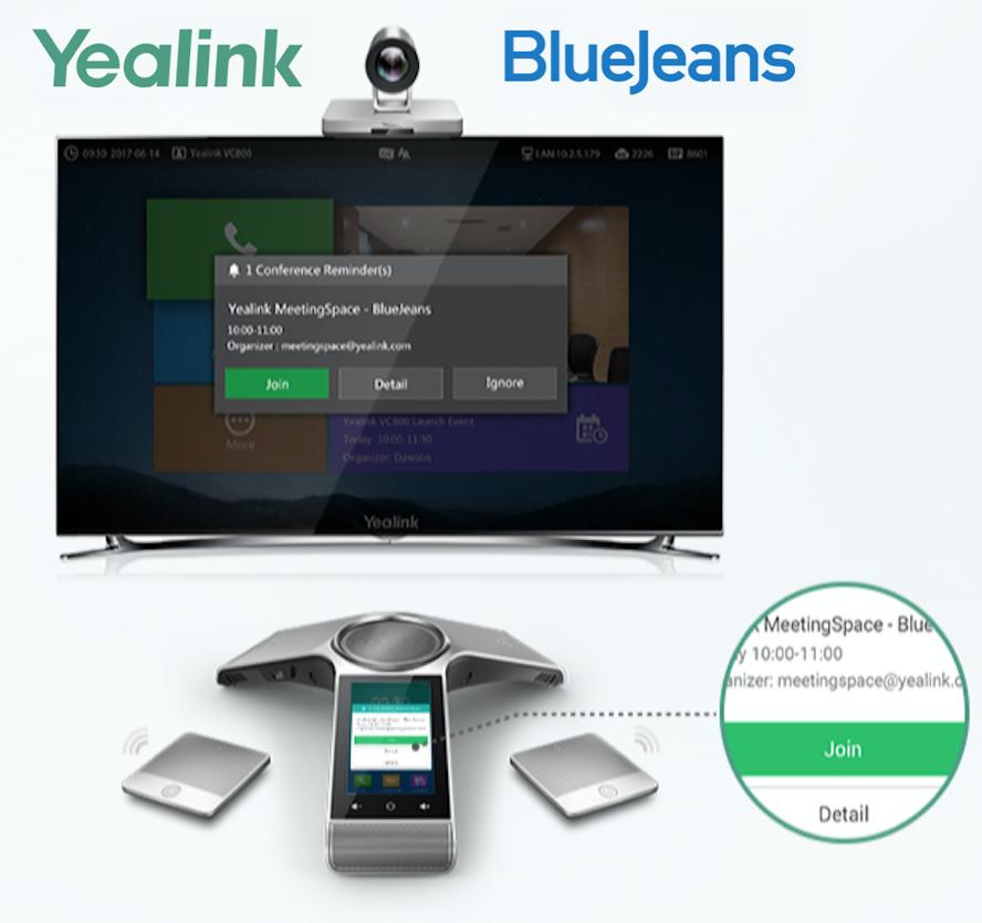 Yealink MeetingSpace for BlueJeans