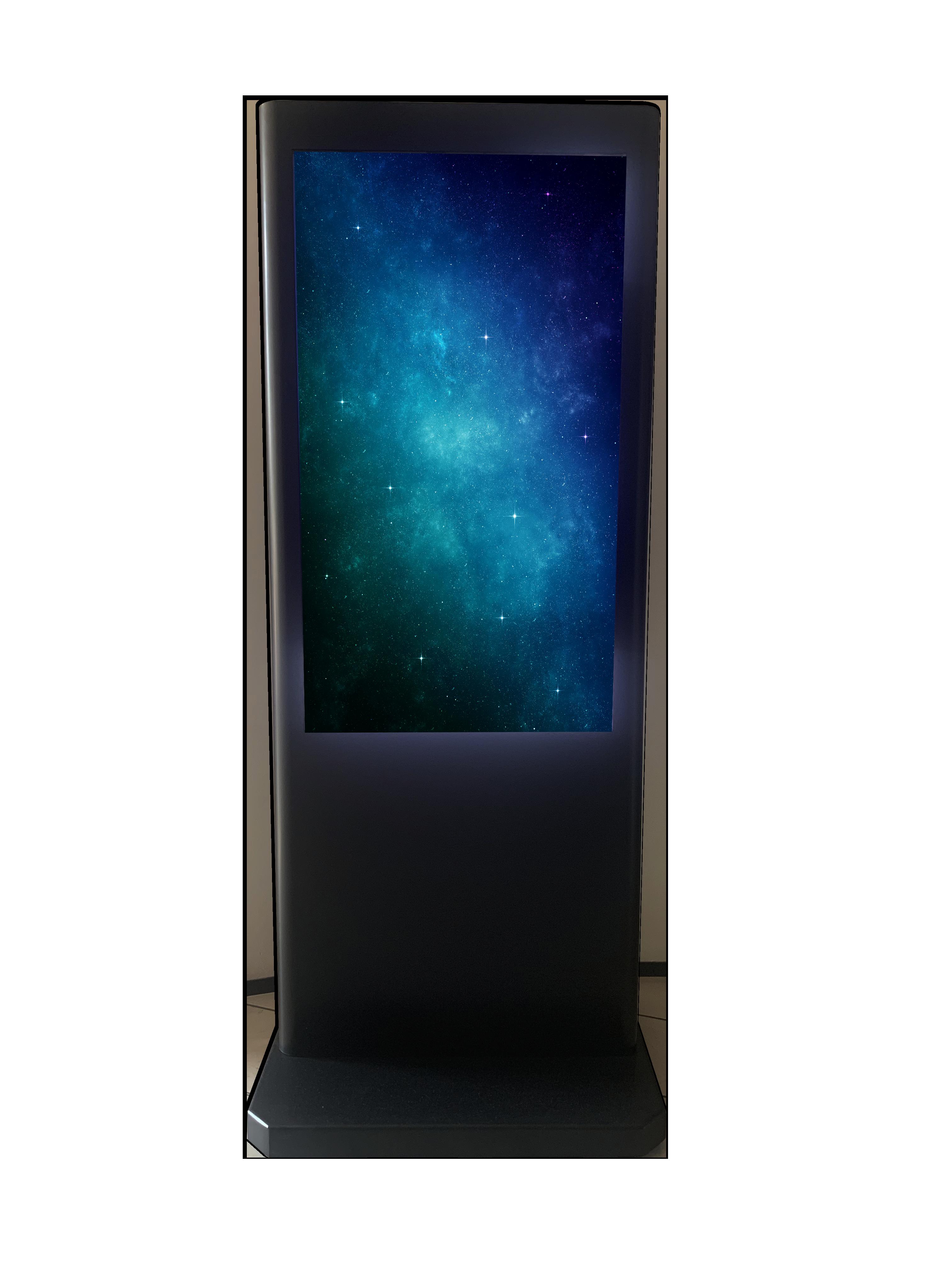 DWPRO DWPRO Stardust - Totem mobile d´affichage dynamique 49´´