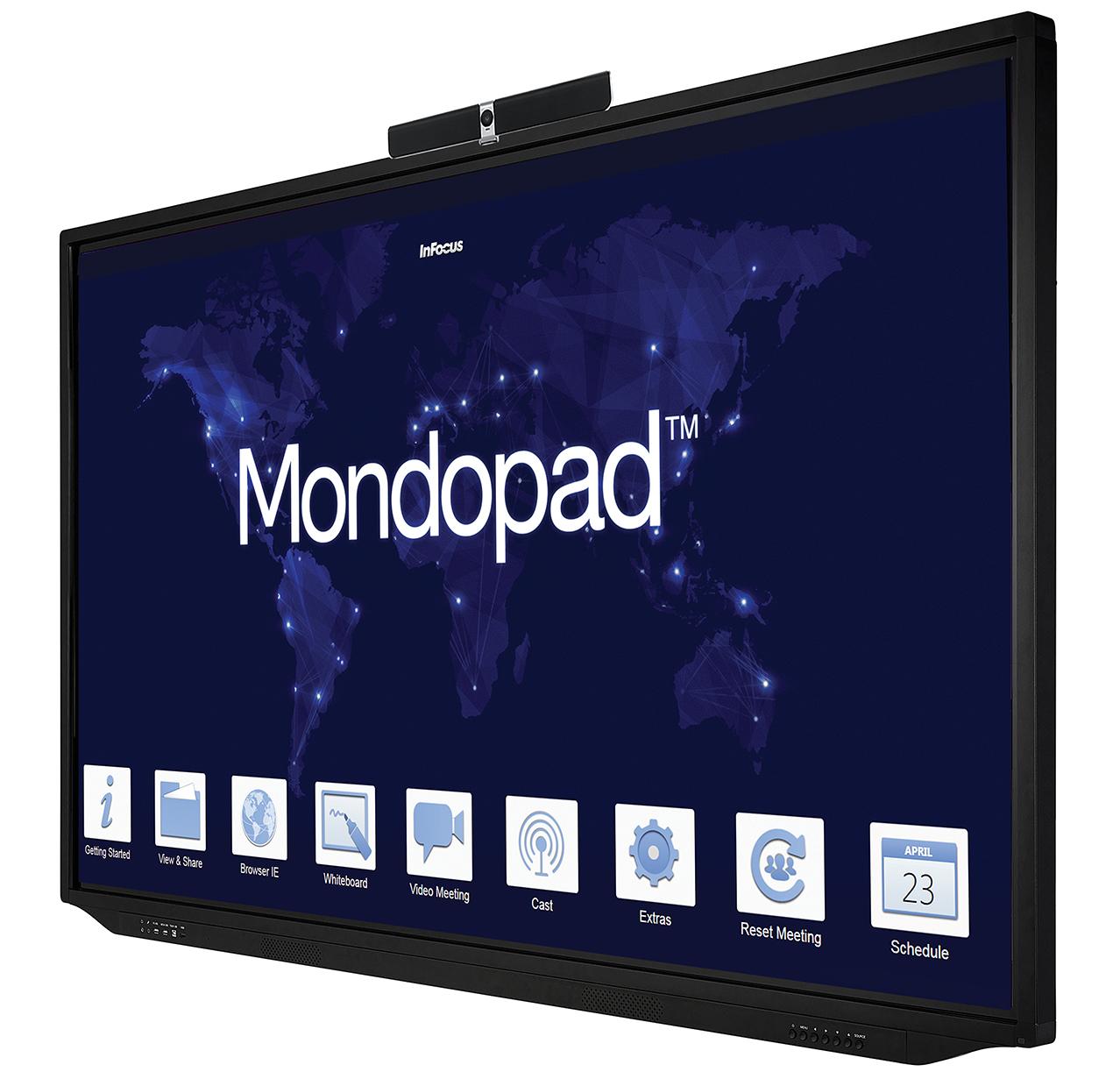 INFOCUS INFOCUS Mondopad - Solution de visioconférence et de collaboration 55 pouces