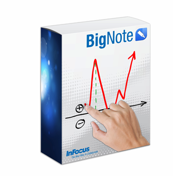 InFocus BigNote whiteboard software for PC- E Delivery