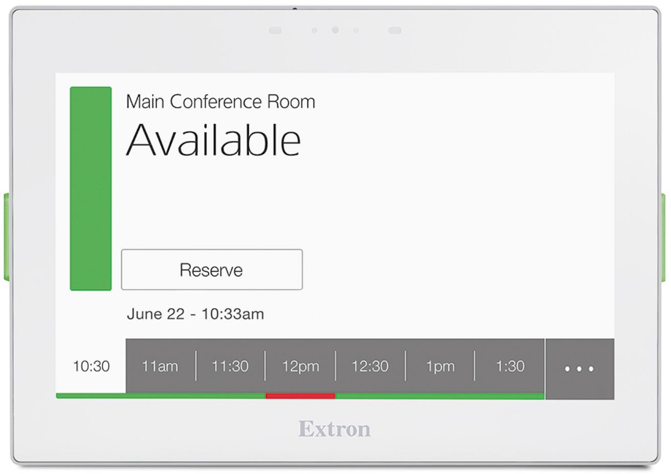 EXTRON  EXTRON TLS 725M - Écran tactile de réservation TouchLink 7`` - Mural