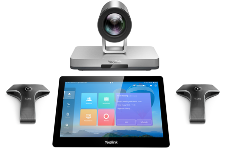 Yealink VC800 - 1080p, Camera 12x, tablette tactile CTP20, 2x micro filaire VCM34, VCH50 Hub