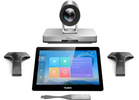 YEALINK Yealink VC800-VCM-CTP-WP  -  Simple ou double écran - Caméra 12X - Tablette tactile - WPP20 - 2 micros filaires