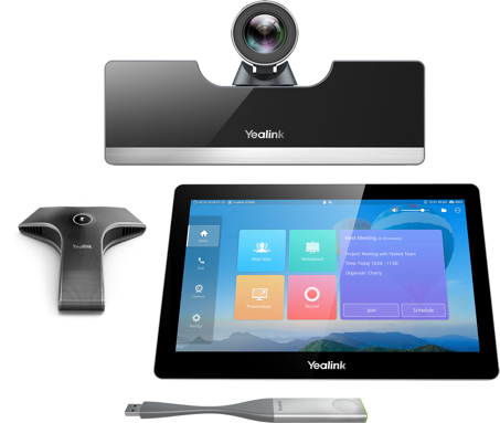 Yealink VC500 - 1080p, Camera 5x - 83°, tablette tactile CTP20, 1x micro filaire VCM34, WPP20, WF50 WiFi
