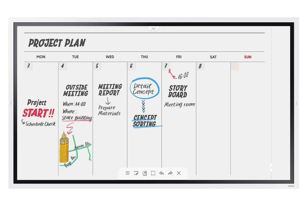 SAMSUNG SAMSUNG FLIP 65`` - Meeting Board Digitale Tactile