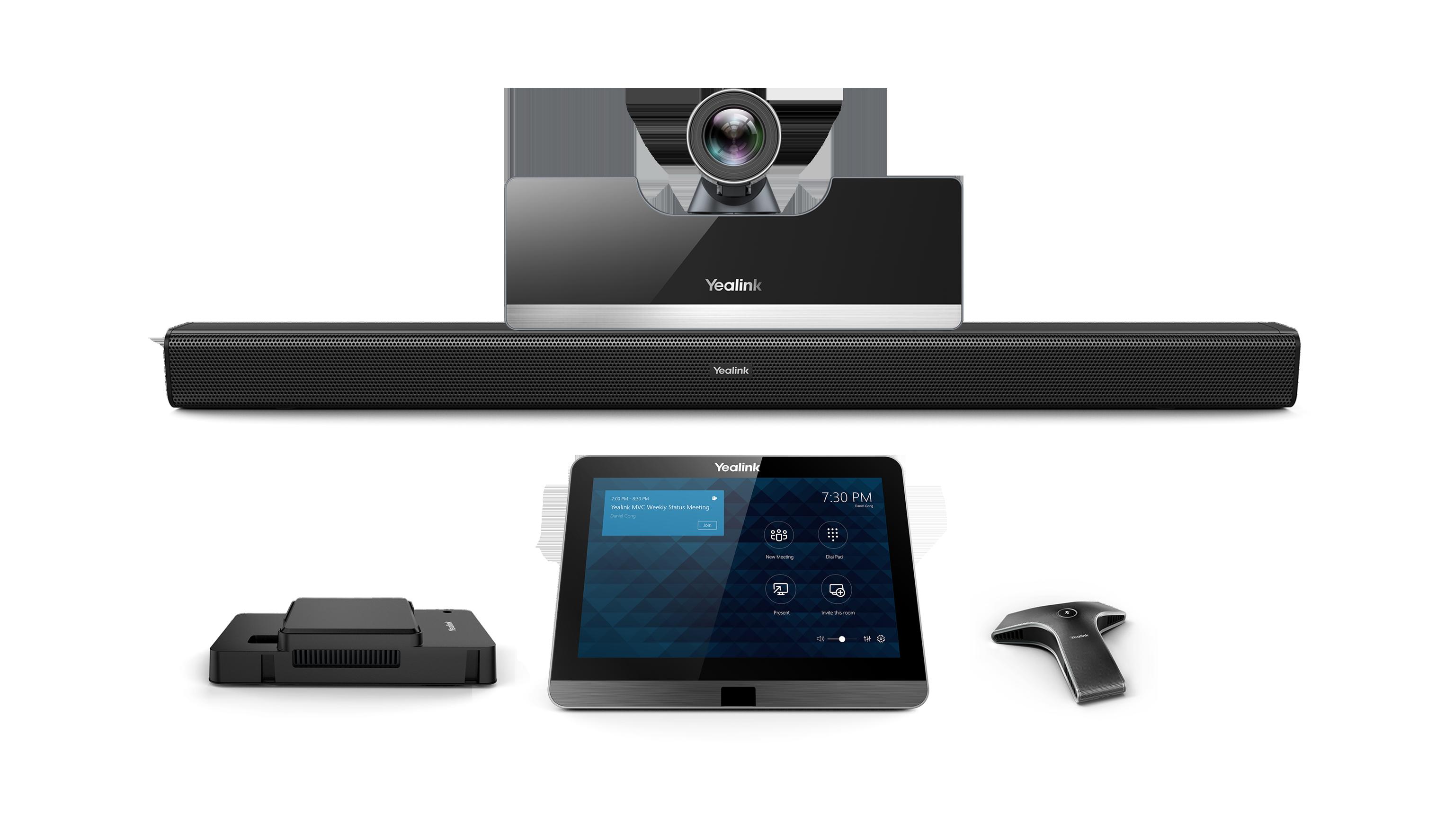 Yealink MVC500-Wired - Système de visioconférence pour petites à moyennes salles - certifié Microsoft Teams