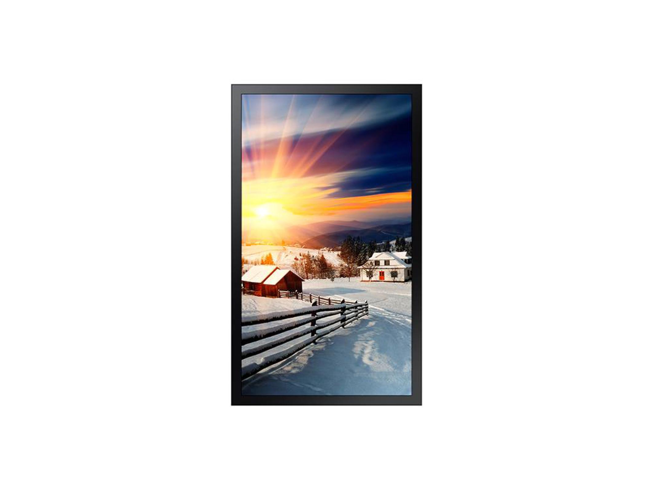 Écran d´affichage extérieur 85`` - 3840 * 2160 (4K UHD) - 3300 cd / m2 (sans verre) nit