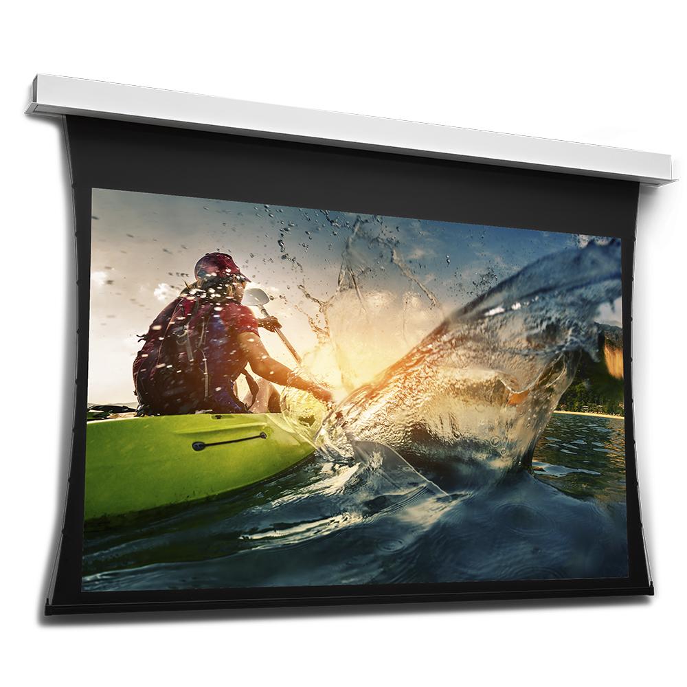PROJECTA DescenderPro tendu - Écrans de projection encastrés au plafond - Taille 117 cm x 200 cm (46,06 ``x 78,74``) - HDTV (16: 9) - Code UPC 8.7001E + 12